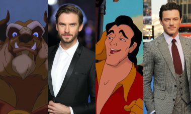 "Dan Stevens and Luke Evans Say ""Bonjour!"" to Beauty and the Beast"