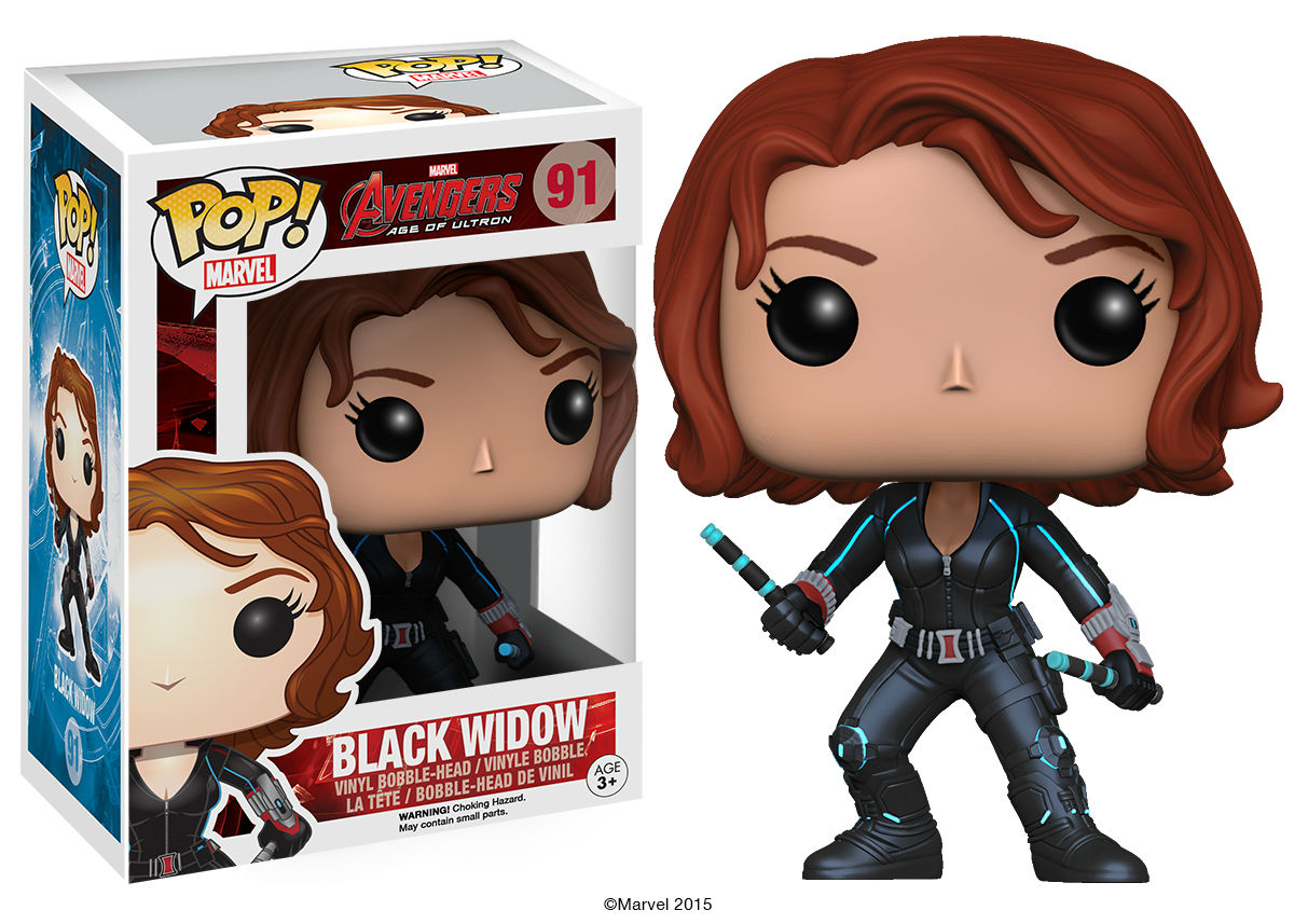 This New Pop Vinyl Has Red In Her Ledger