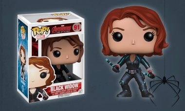 This New Pop! Vinyl Has Red in Her Ledger
