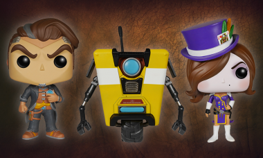 Handsome Jack's Been Busy Transforming into a Pop! Vinyl