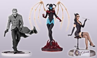The Joker's Back, Catwoman's a Bombshell, and More from DC Collectibles