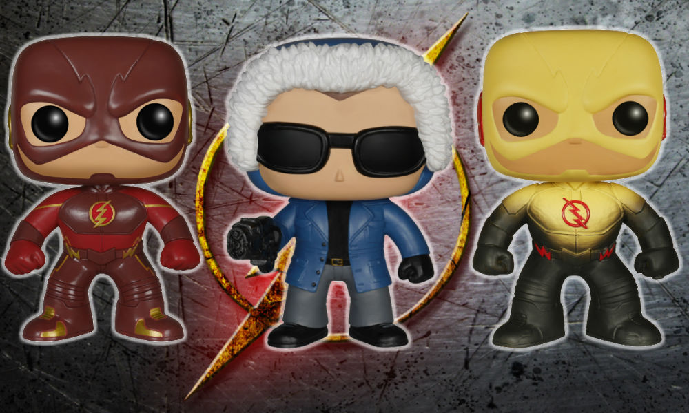 flash tv series pop vinyls