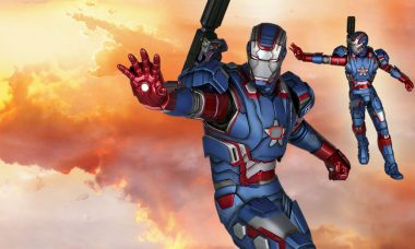 Iron Patriot 1:4 Scale Statue Totally Rox