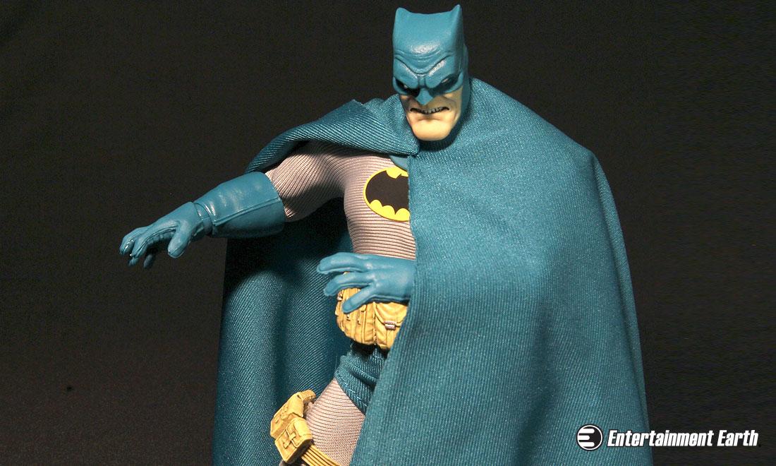 The Dark Knight Returns In Bright Blue Action
