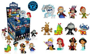 Disney Pits Heroes Against Villains in Miniature Form