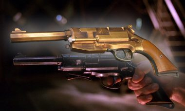 Arm Yourself with Captain Tightpants's Beloved Pistol