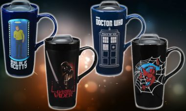 Heat Change Travel Mugs Are Perfect for a Geek Road Trip