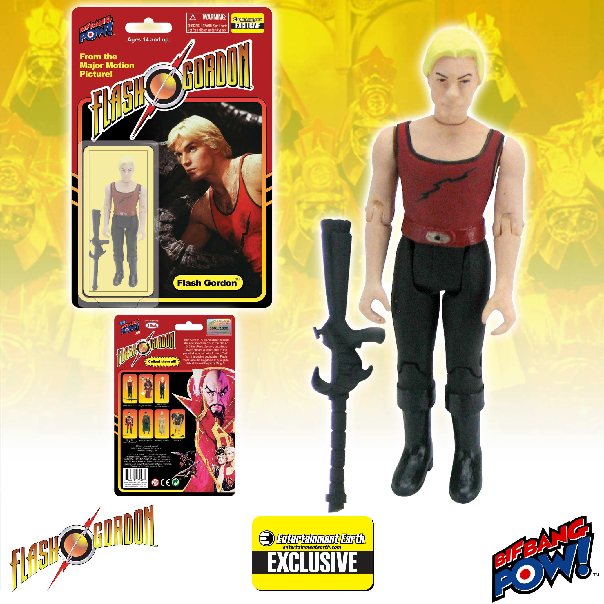 Flash Gordon Red Tank Figure
