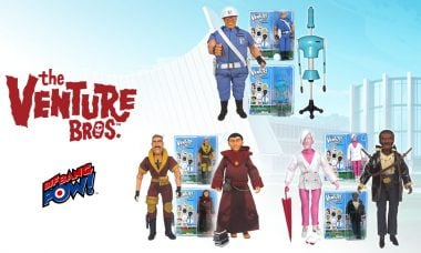 It's a Family Affair with New Venture Bros. Figures