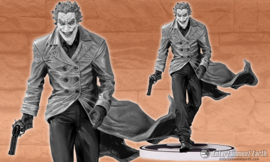 Batman's Most Notorious Villain Steps Out of His Graphic Novel in Glorious Black and White
