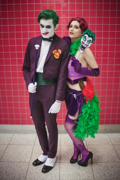 Joker with Stacey Rebecca as The Jokers Daughter by JustBuyTheToad Photography