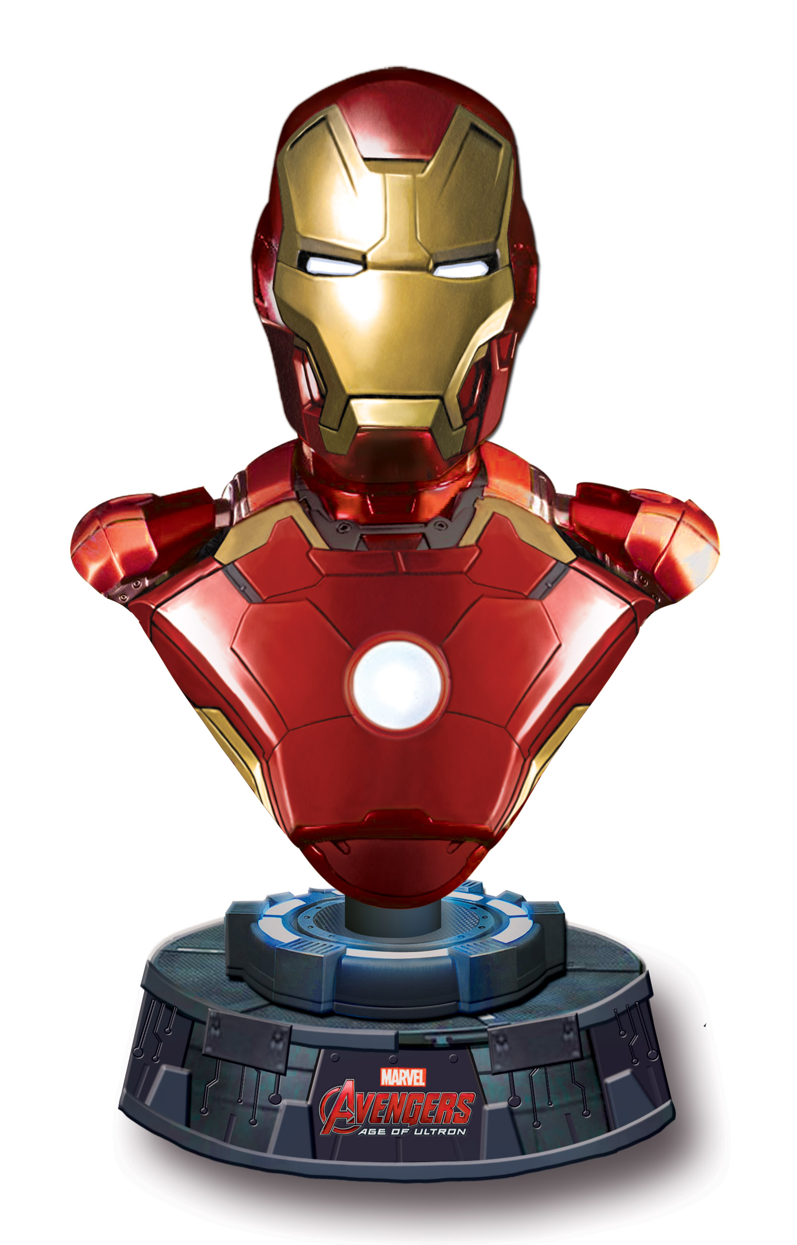 iron man is here to make your desk heroic