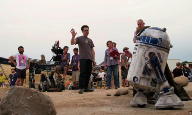 Enter the World of Star Wars: The Force Awakens with Behind the Scenes Photos