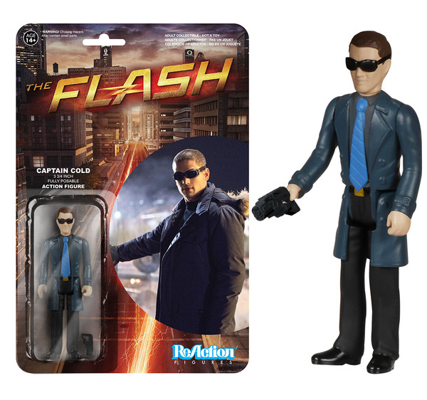 captain cold reaction figure
