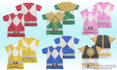 Feel the Mighty Morphin' Power with Great T-Shirts