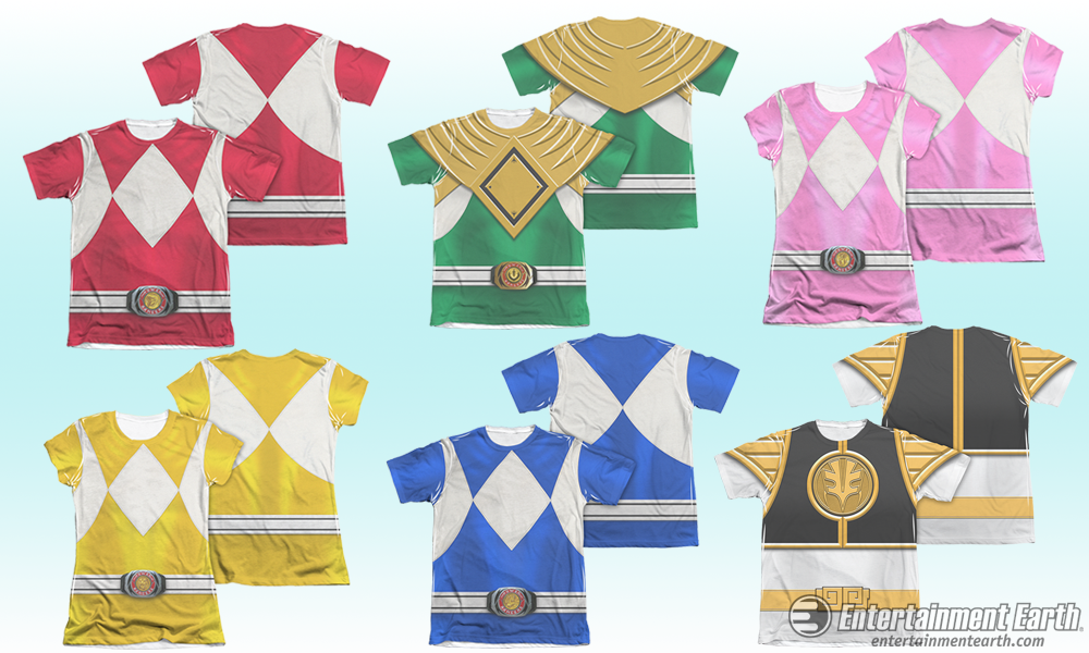 Trevco Power Rangers Shirts