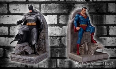 The Man of Steel and The Dark Knight Team Up to Protect Your Books
