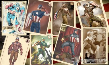 Join Coulson's Captain America Fanclub with Vintage Trading Cards Set