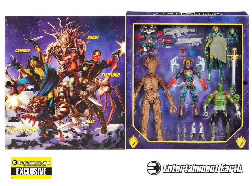 Guardians of the Galaxy Marvel Legends Action Figure Set