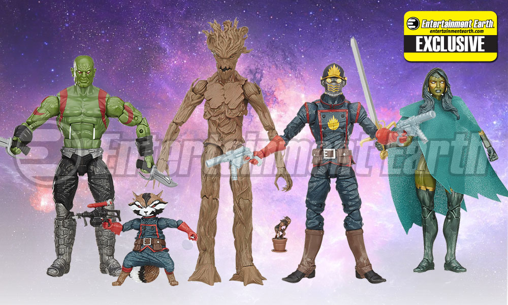Guardians of the Galaxy Marvel Legends Action Figure Set - Entertainment Earth Exclusive