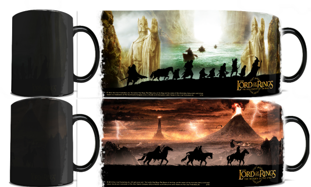 lord of the rings morphing mugs