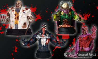 Your Favorite Marvel Villains Become Undead Busts