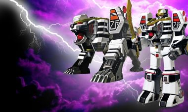 This White Tiger Is a Rare and Powerful Zord Figure