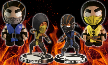 Kombat Begins with These Ninja Bobble Heads and Plush