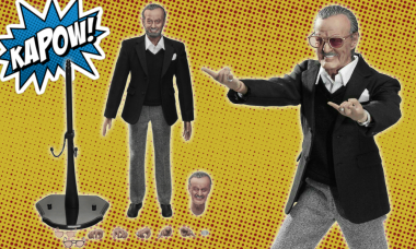 Marvel Co-Creator Joins His Character as First-Ever Action Figure
