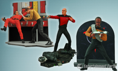Diamond Action Figures Join Starfleet for Space Adventures