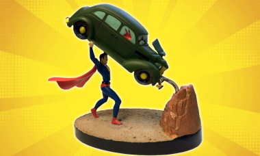 Superman's First Appearance Is Premium and in Motion as New Statue