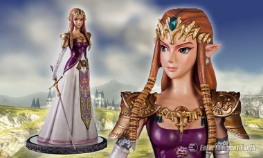 Princess of Hyrule Commands as Stunning Statue