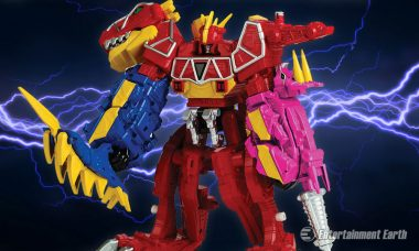 Powerful Zord Comes All the Way from the Prehistoric Era