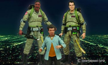Ghost Busting Figures Are Holdin', Smokin', and Ready
