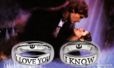 Celebrate the Princess and Scruffy Looking Nerf Herder's Romance with Rings