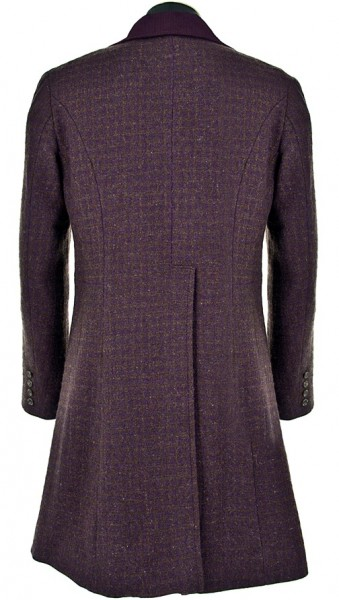 Eleventh Doctor Purple Coat