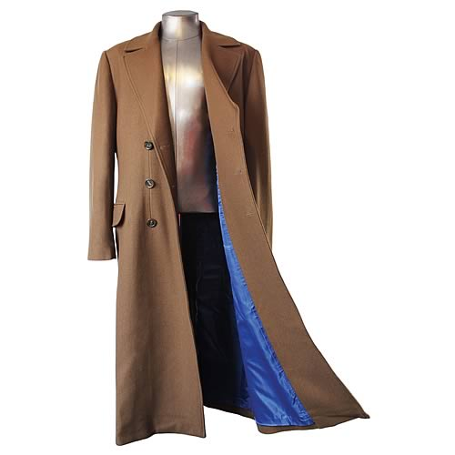 Tenth Doctor Brown Coat