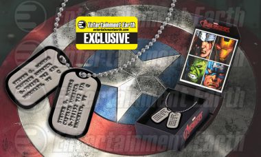 Salute the Bravest Avenger with Exclusive Necklace Replica