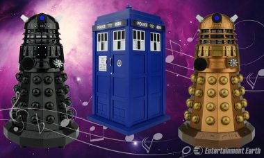 Experience the Sounds of the Universe with Doctor Who Bluetooth Speakers