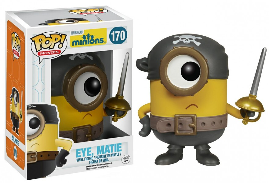 Pirate Minion Pop! Vinyl