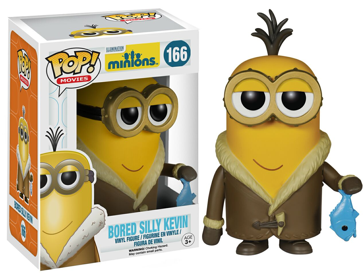 New Yellow Pop Vinyls Are Just Looking For A New Evil Master