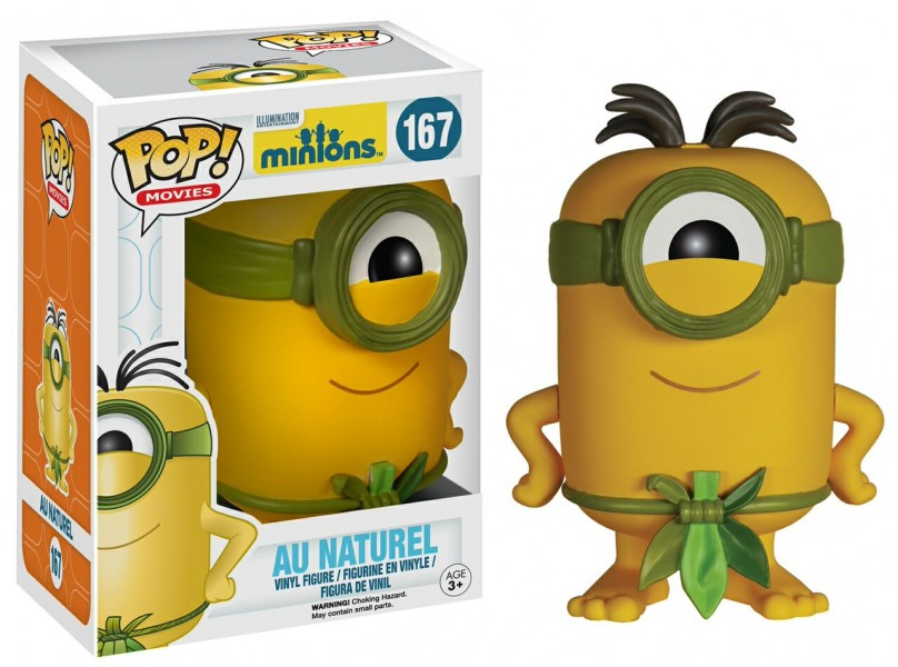 Au Naturale Minion Pop! Vinyl