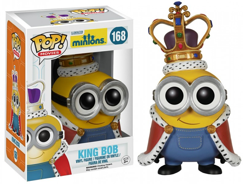 Minion King Pop! Vinyl