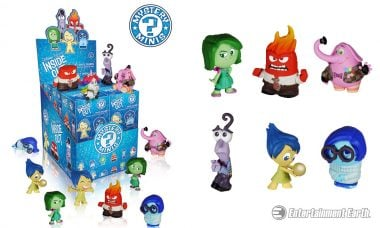 Add Some Personality to Your Collection with New Pixar Mystery Minis