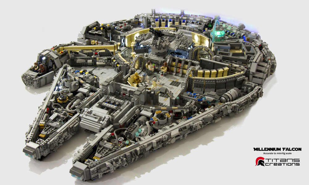 This LEGO Creation Is Definitely Not a Piece of Junk ...