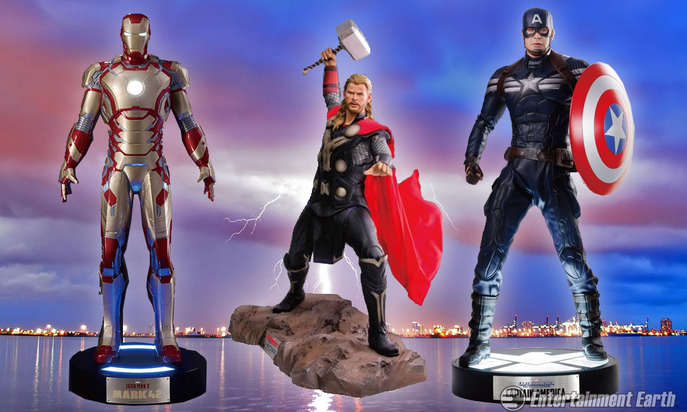 Assemble The Avengers In Your Living Room As Life Size Statues