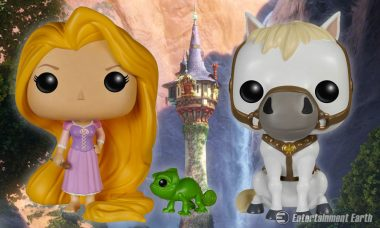 Leave Your Tower for Brand New Disney Pop! Vinyl Figures