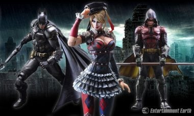 Batman and Robin Take on Harley Quinn as New Play Arts Kai Figures