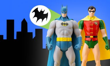 Holy Super Powered Dynamic Duo Statues, Batman!