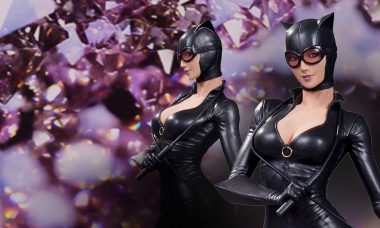 Latest DC Comics Cover Girls Statue Is Absolutely Purrrfect